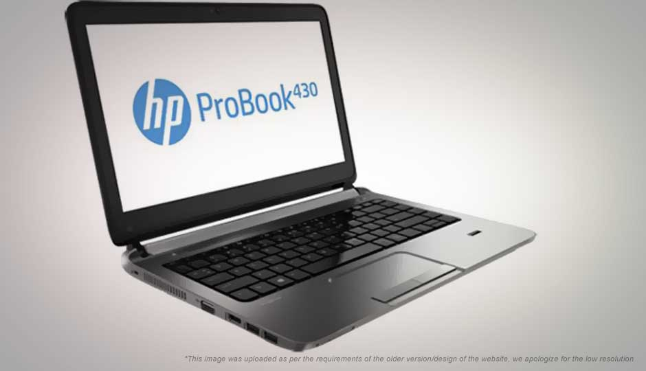 Compare HP Probook 430 Vs HP EliteBook 840 G3 - Price , Specs & Features