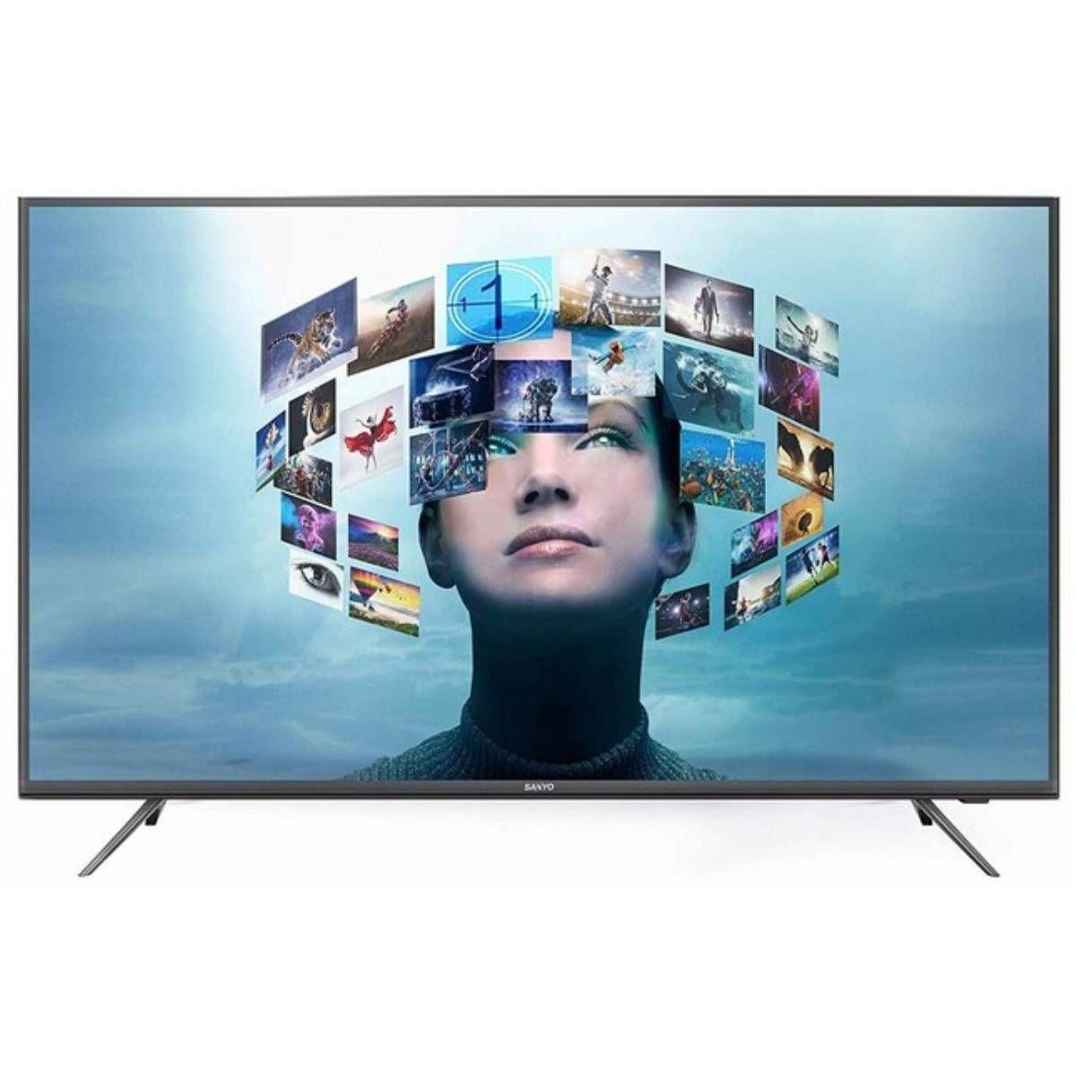 Sanyo 49 इंच 4K LED Ultra HD टीवी (XT-49A081U)