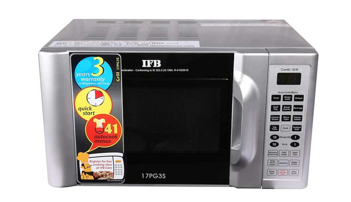ഐഎഫ്ബി 17 L Grill Microwave Oven (17PG3S)