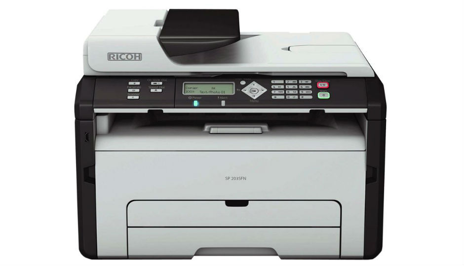 Compare Ricoh Aficio SP 203SFN Vs Epson L6190 - Price , Specs & Features