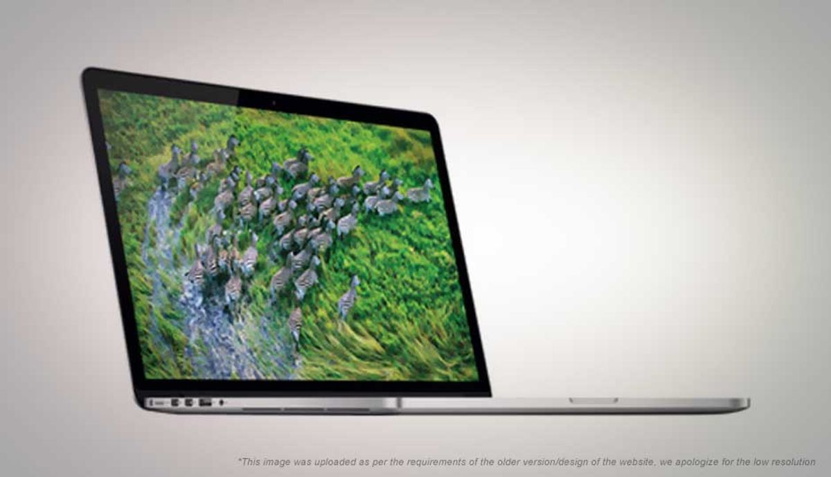 ऍप्पल Macbook Pro 13 Retina मुख्य पृष्ठ 2013