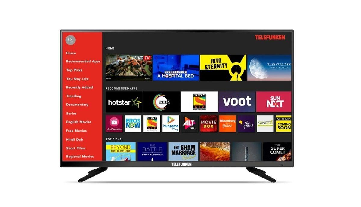 Telefunken 40 इंच Full HD Smart टीवी (TFK40S)