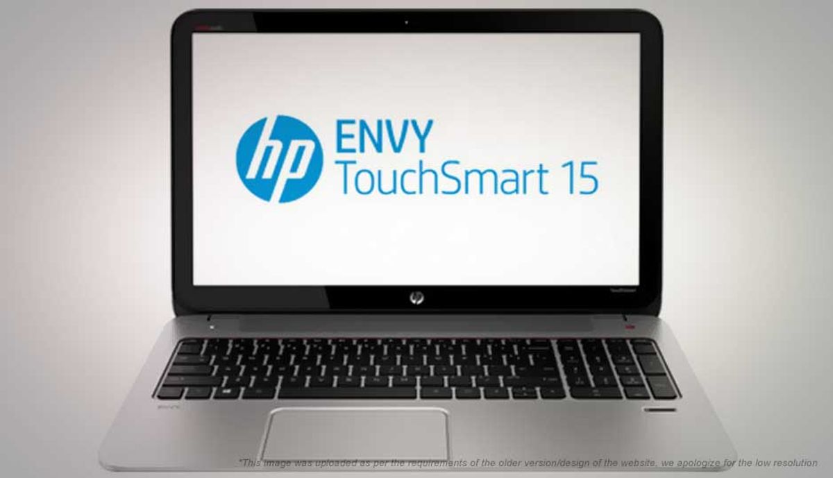 HP Envy TouchSmart 15-J109TX