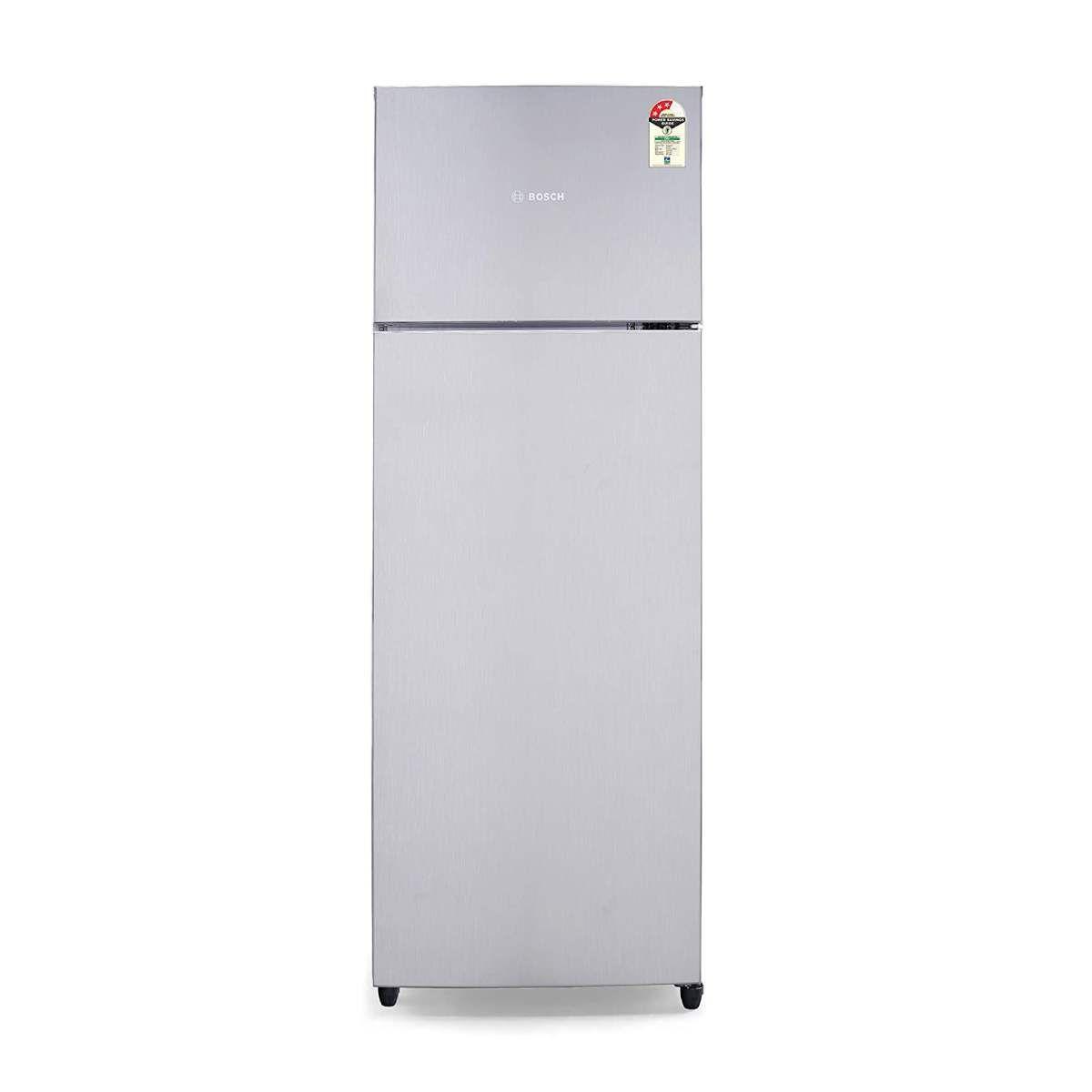 Bosch 327 L 3 Star Inverter Double Door Refrigerator (KDN42UL30I)
