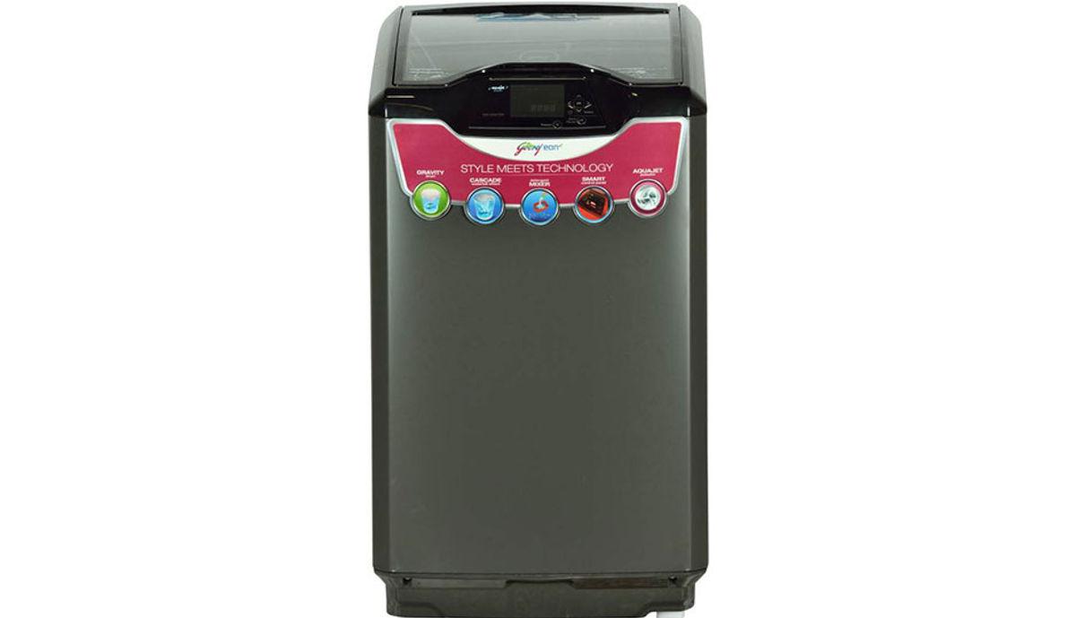 गोदरेज 6.5  Fully Automatic महत्त्वाचे Load Washing Machine Grey (WT EON 651 PFH)