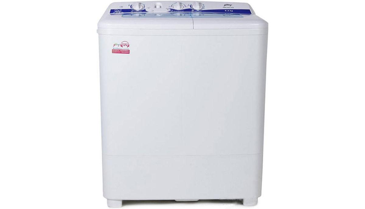 கோத்ரெஜ் 6.2  Semi Automatic மேலே Load Washing Machine White (GWS 6203 PPD)