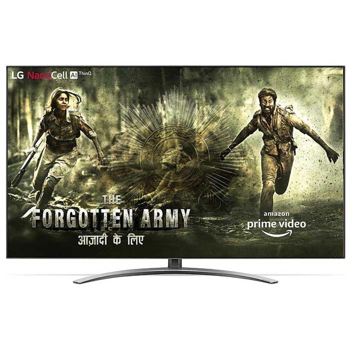 एलजी 55 इंच 4K Ultra HD Smart NanoCell टीवी (55SM9000PTA)