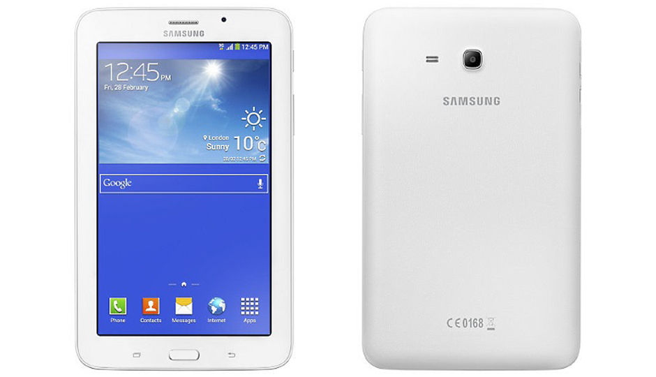 Samsung Galaxy Tab 3 V Price In India Specification
