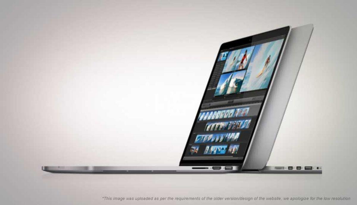 एप्प्ल Macbook Pro with Retina डिस्प्ले 2.3 Ghz प्रोसेसर