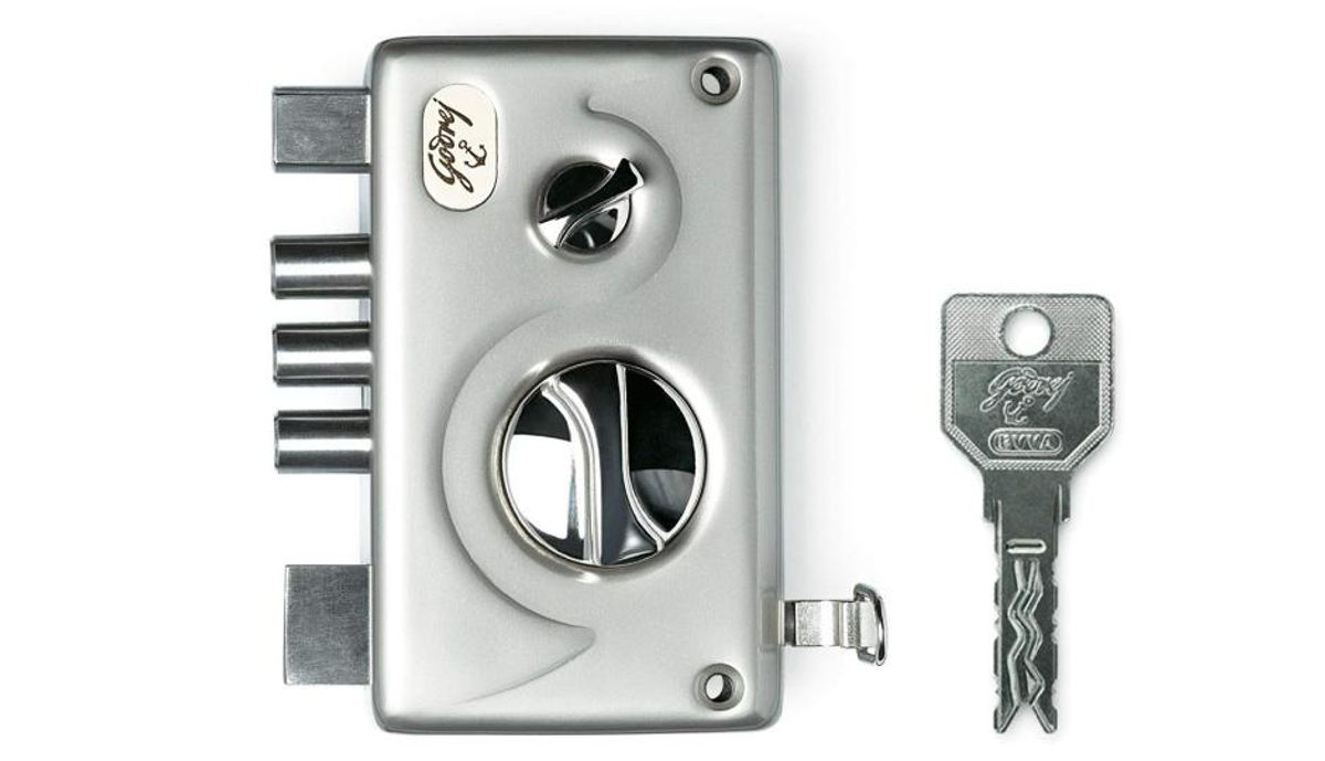 गोदरेज Locks EVVA Pentabolt 1CK
