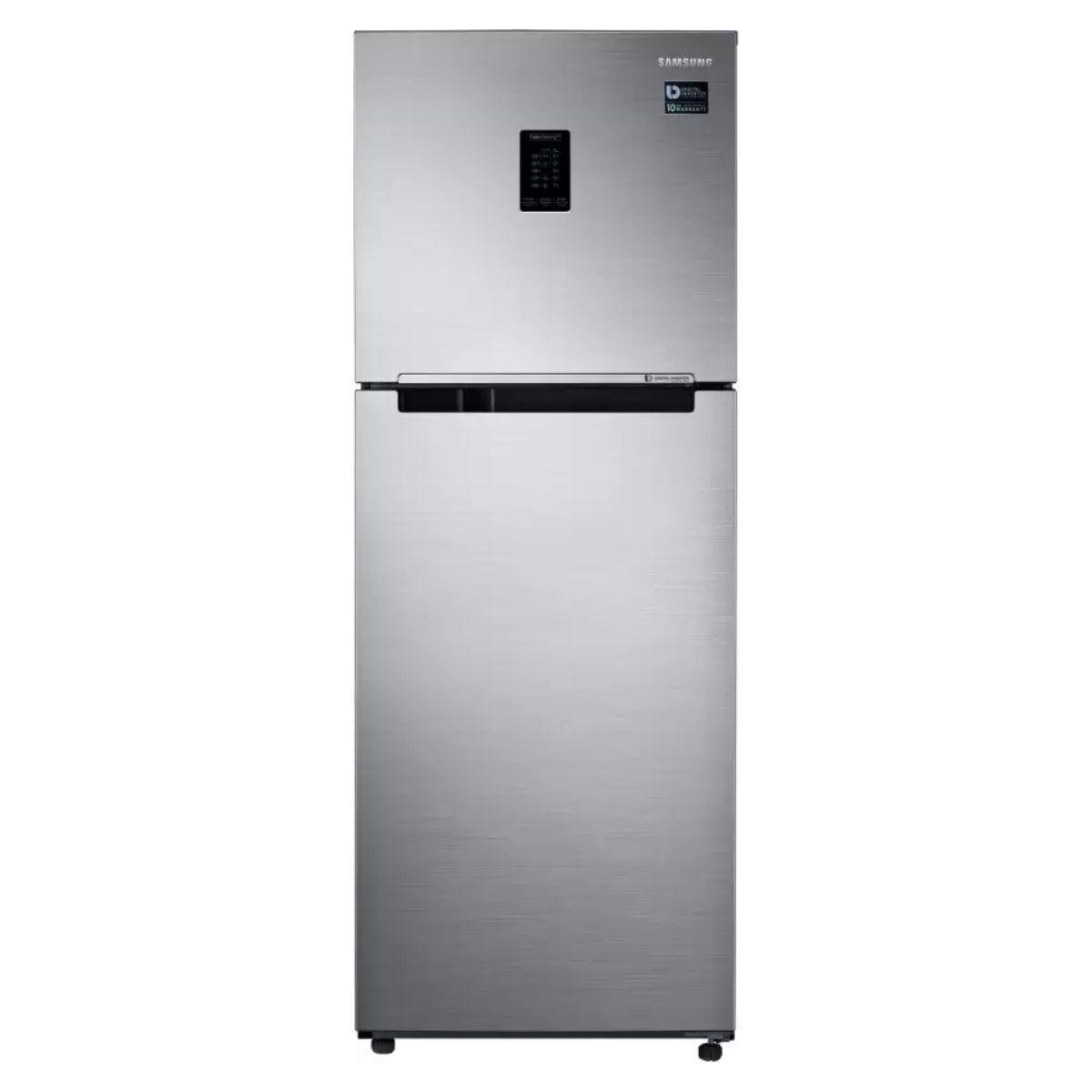 சேம்சங் 345 L Double Door 3 Star Refrigerator (RT37T4513S8/HL)