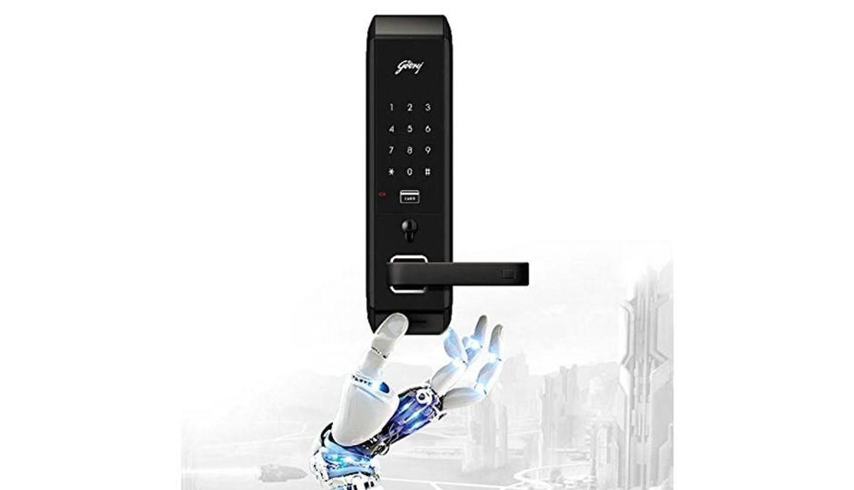 கோத்ரெஜ் Locks Advantis 5259 ABS Plastic Digital Door Lock