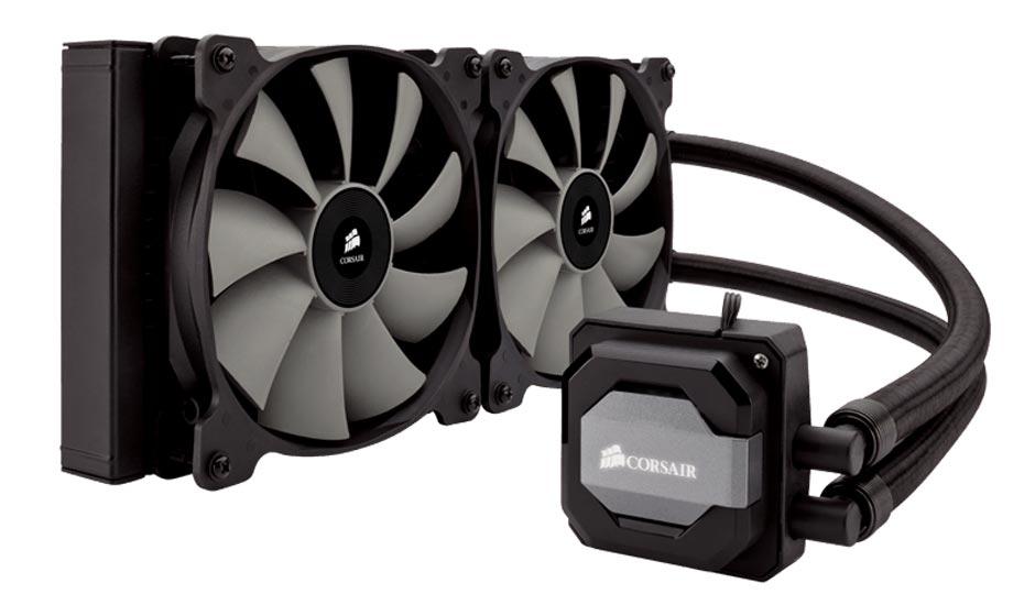 Compare Corsair H110i GT Liquid Cooler Vs Intel Core i7