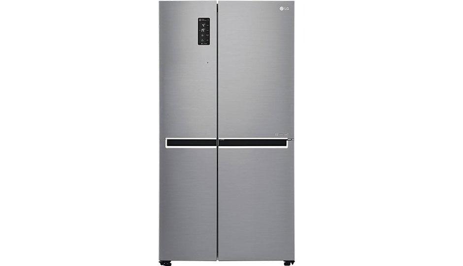 Lg 687l Inverter Linear Side By Side Refrigerator Gc B247svuv Price
