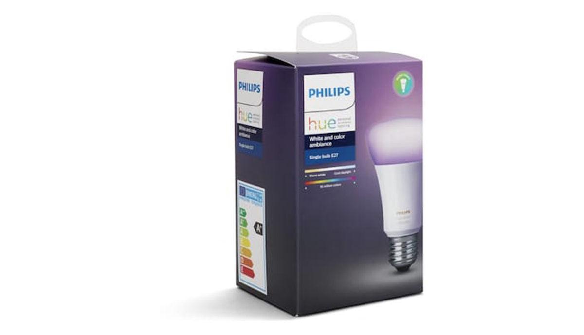 فلپس Hue 10W E27 Bulb (White & رنگ Ambiance)