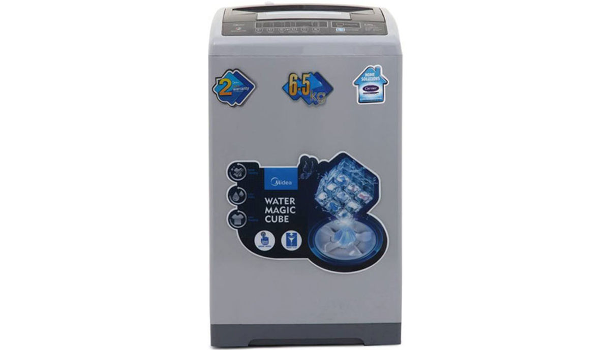 Carrier Midea 6.5  Fully Automatic महत्त्वाचे Load Washing Machine (MWMTL065MWO)