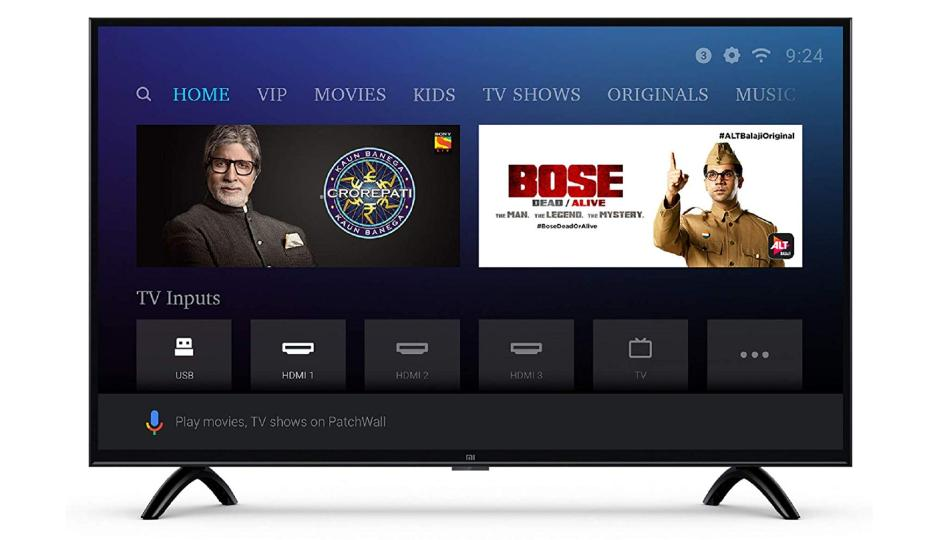 xiaomi mi 80 cm 32 inches 4c pro hd ready android led tv price in india specification. Black Bedroom Furniture Sets. Home Design Ideas
