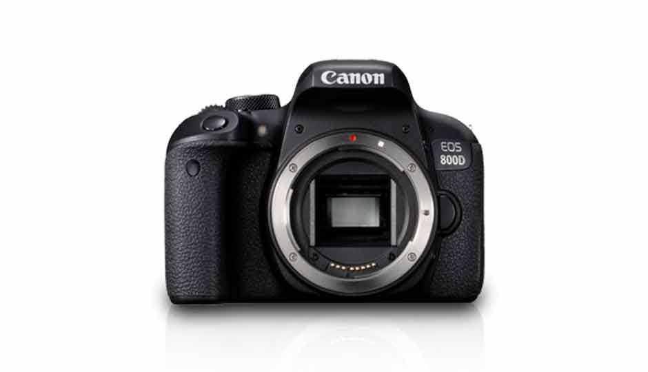 canon eos 800d price in india specification features. Black Bedroom Furniture Sets. Home Design Ideas