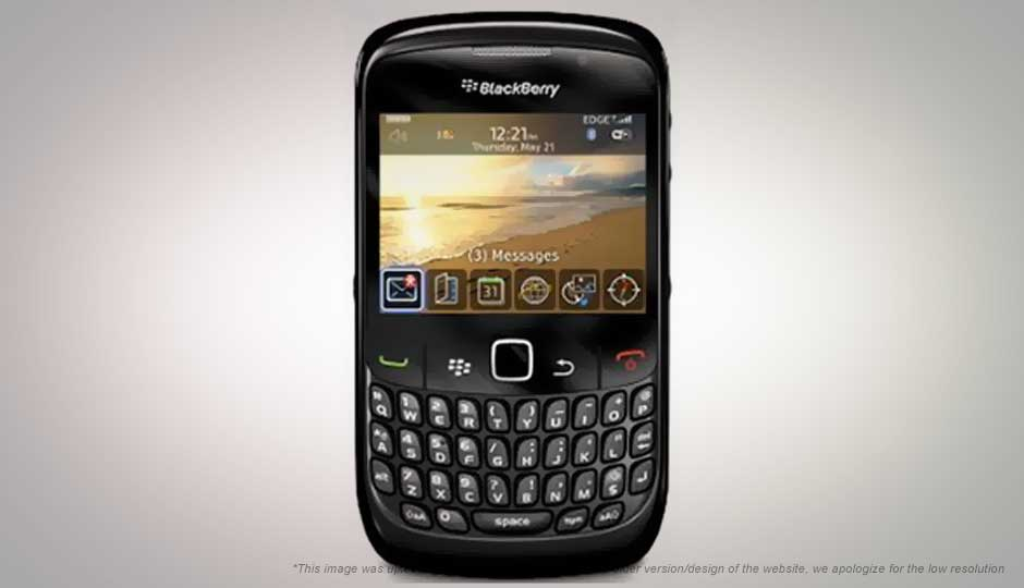 foto da blackberry curve 8520