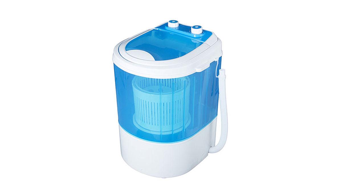 Vetronix Vmwm2003 Plastic 3  Portable Mini Washing Machine With Dryer Basket (Blue)