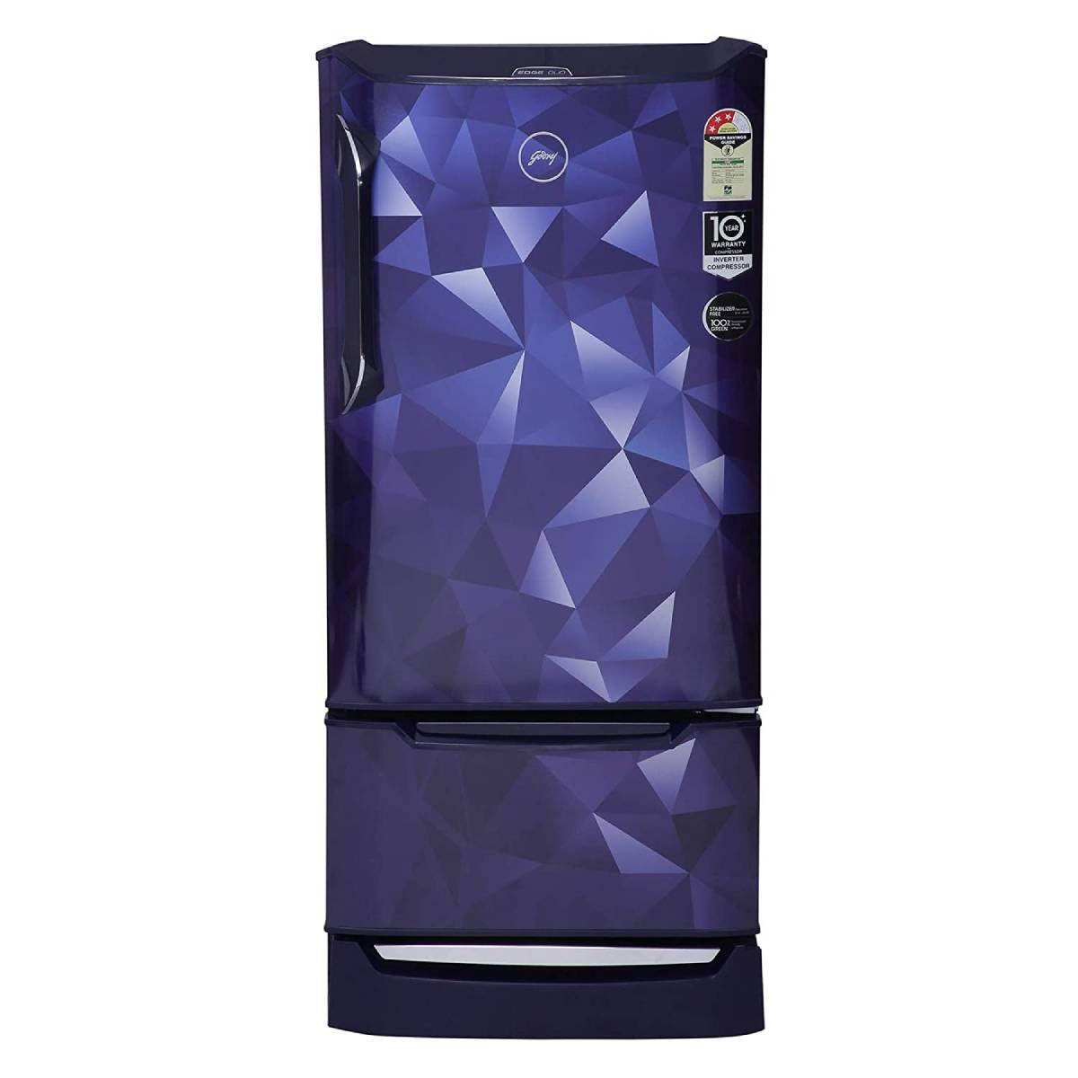 கோத்ரெஜ் 205 L 3 Star Direct-Cool Single Door Refrigerator (RD EDGEDUO 220C 33 TDI PS BL)