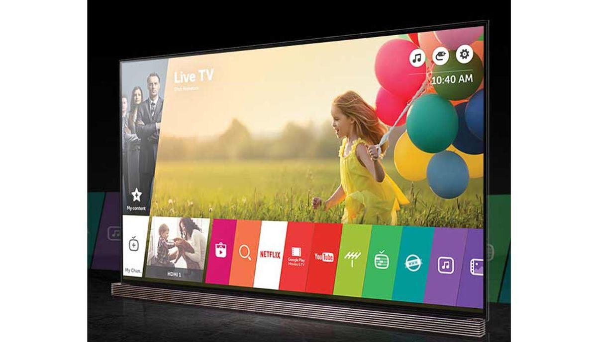 LG Signature OLED77G6T 4K TV