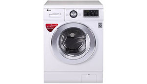एलजी 8  Fully Automatic Front Load Washing Machine White (FH4G6TDNL22)
