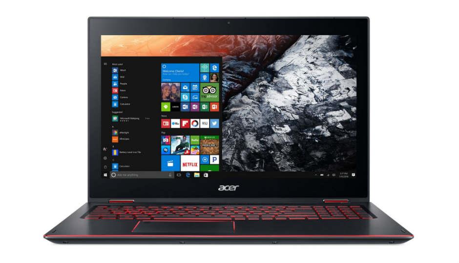 Compare Acer Nitro 5 Spin Vs HP Omen 15 CE074TX - Price , Specs
