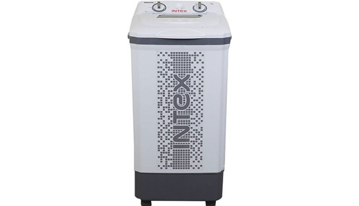 इंटेक्स 7.5  Semi Automatic टॉप Load Washer Only White, Grey (WM75ST)