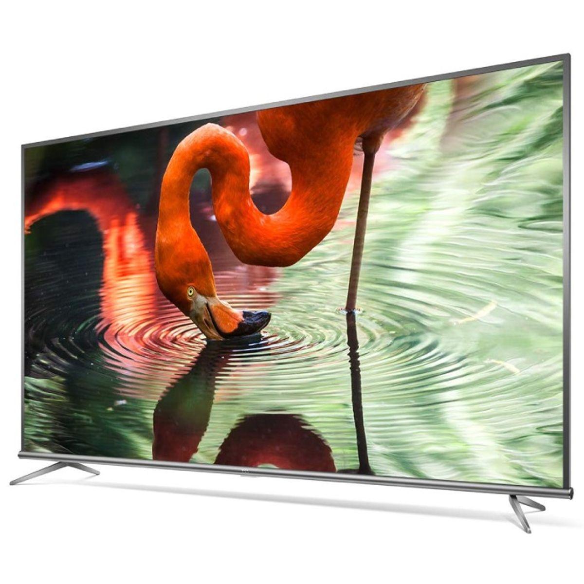 ಟಿಸಿಎಲ್ 43 ಇಂಚುಗಳು 4K Ultra HD Smart ಆ್ಯಂಡ್ರಾಯ್ಡ್ LED TV (43P8E)