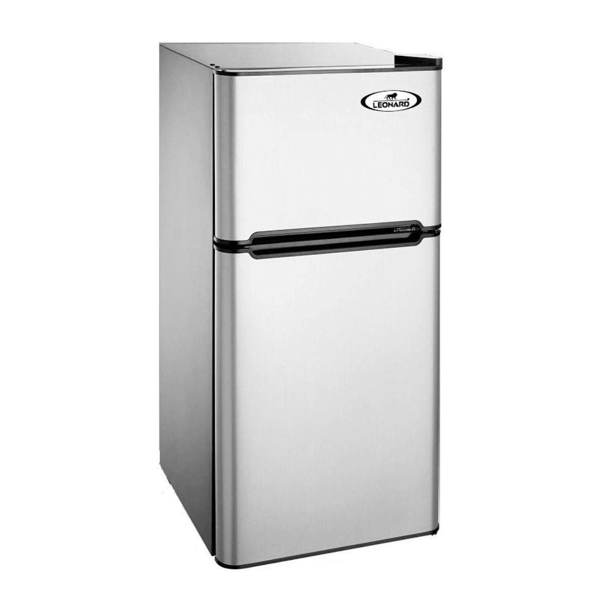 Leonard USA 110 Liters Double Door Mini Refrigerator