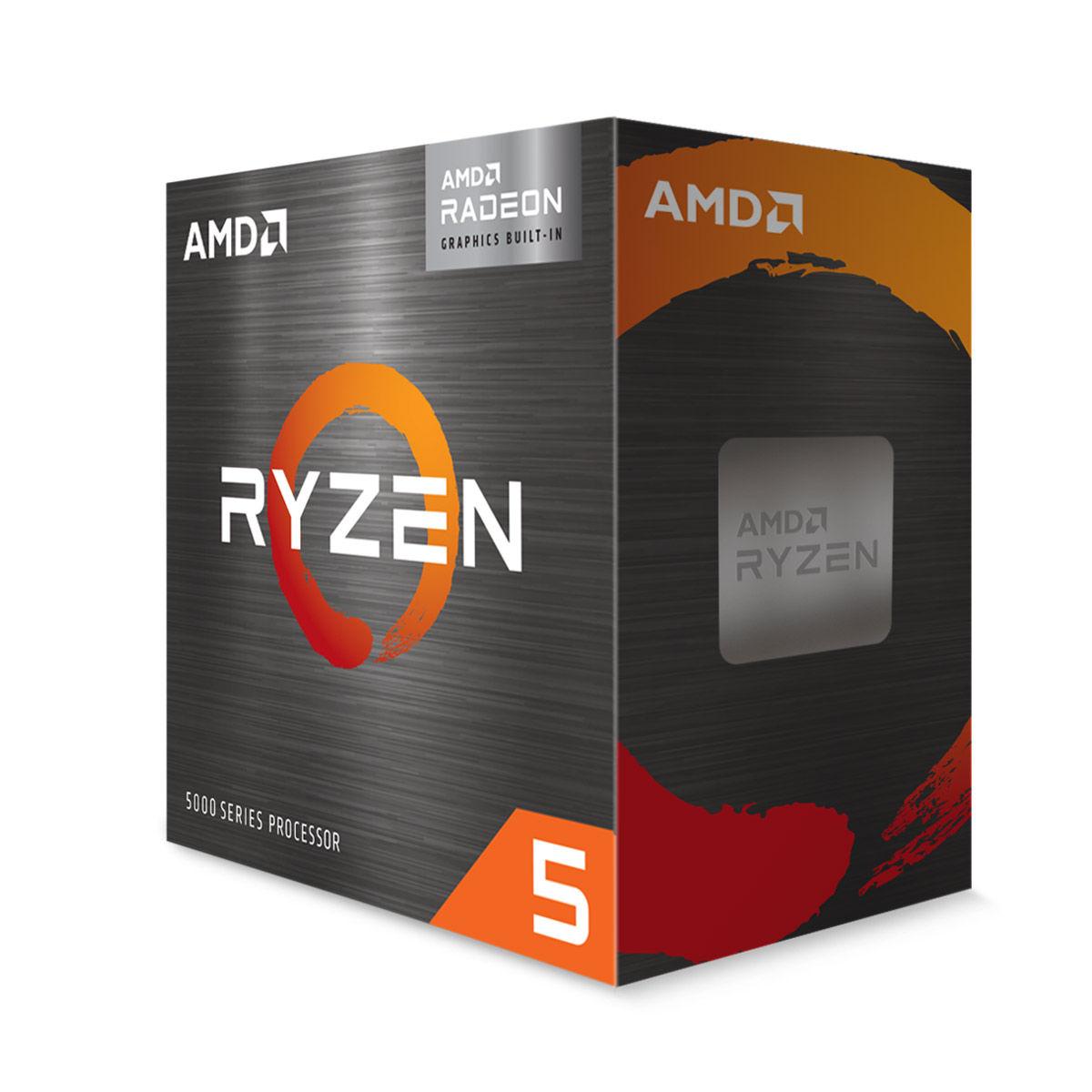 एम्ड Ryzen 5 5600G Desktop प्रोसेसर with integrated Radeon Graphics
