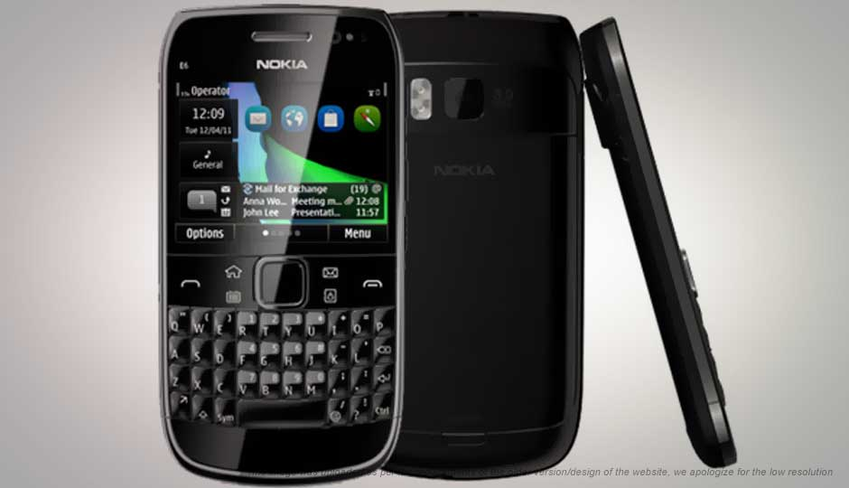 Nokia E6 Price In India Specification Features Digit In