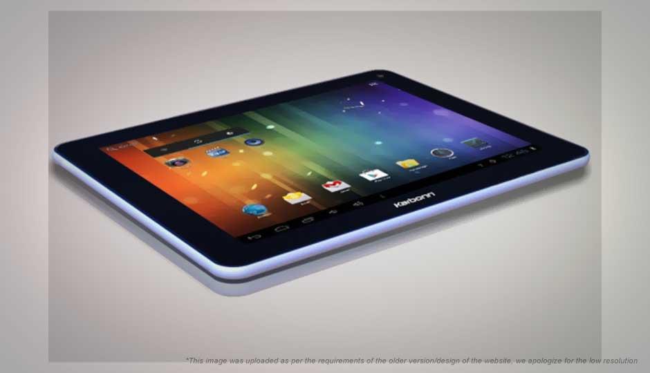 Karbonn Cosmic Smart Tab 10 full specifications