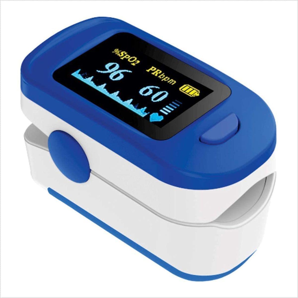 Beardo Dual कलर-ओएस OLED Finger पल्स Oximeter