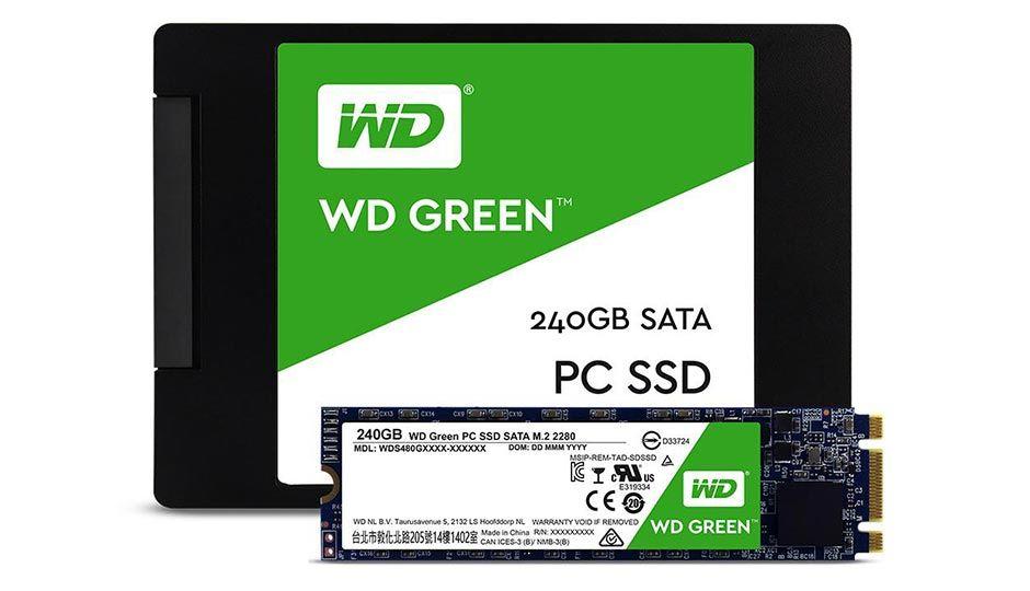 wd green ssd ファームウェア