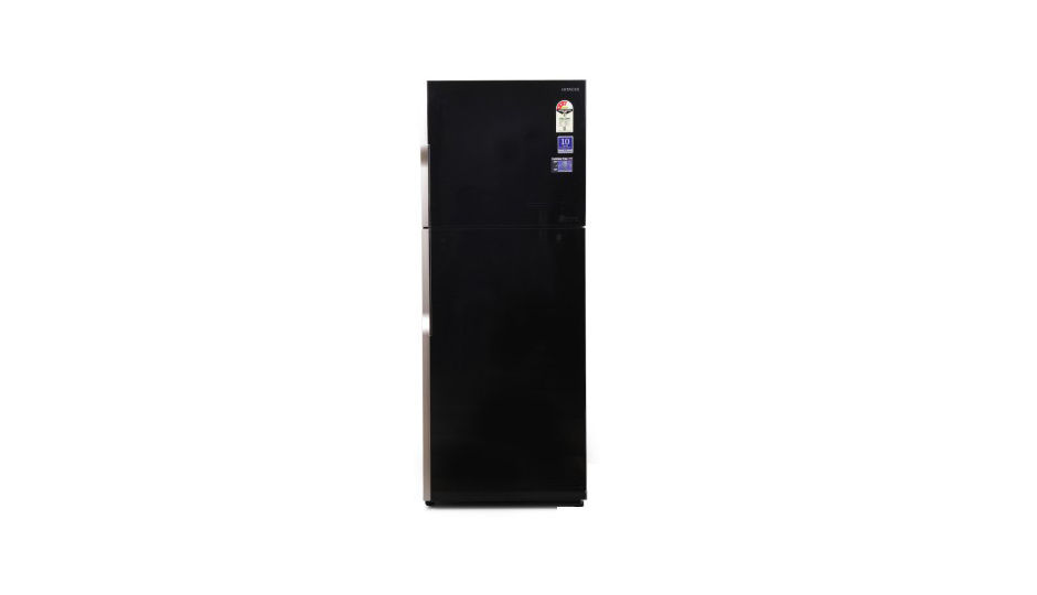 hitachi refrigerator one door. hitachi r-vg440pnd3 415 l double door refrigerator one