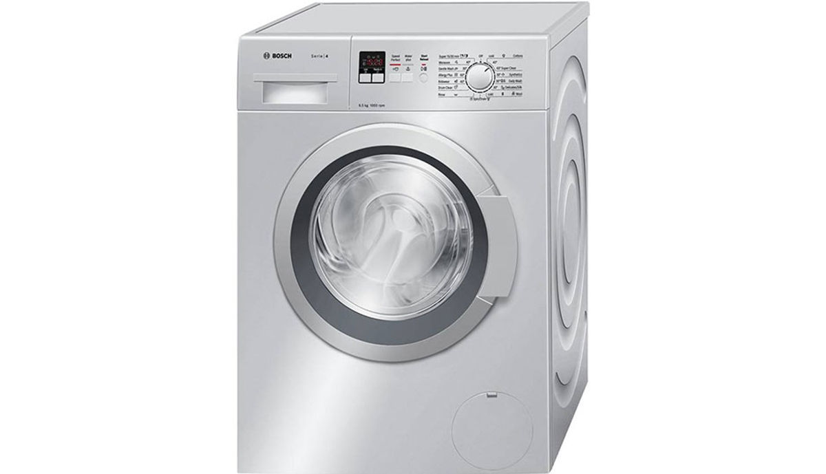 बॉश 6.5  Fully Automatic Front Load Washing Machine Silver (WAK 20167IN)