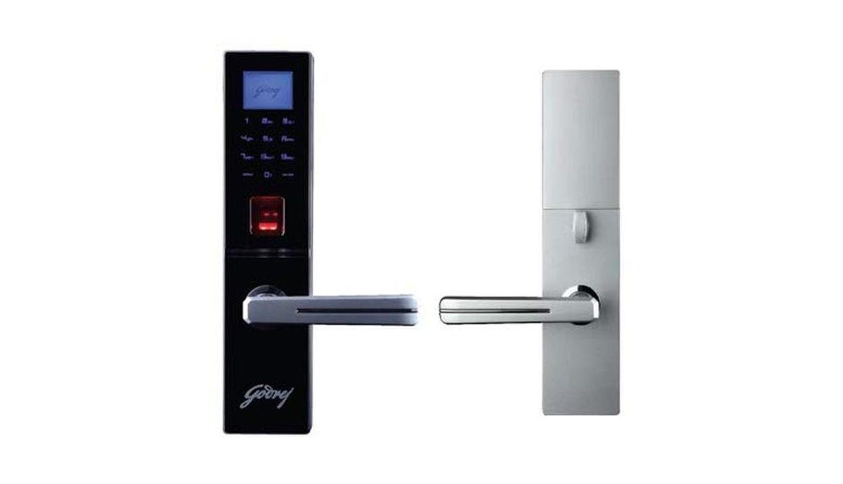 கோத்ரெஜ் Smart Senze Biometric Mortise Lock – Right Handed
