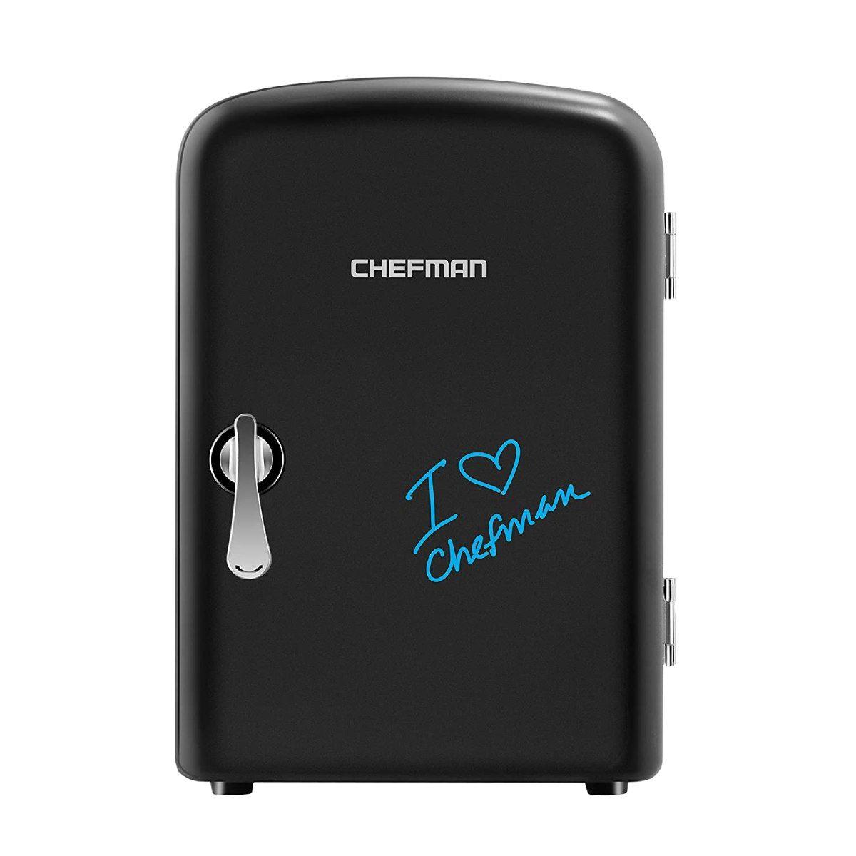 Chefman Mini Portable Eraser Board Personal Fridge