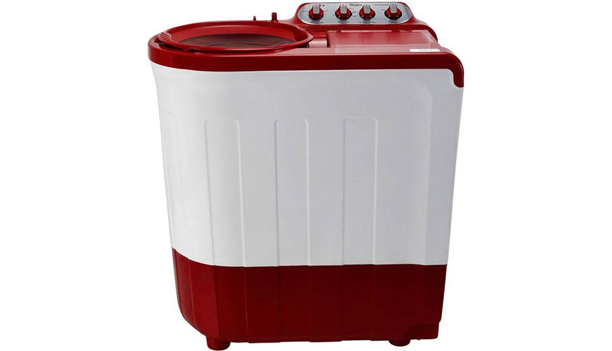 Whirlpool 7.5  Semi Automatic மேலே Load Washing Machine Red (Ace 7.5 Sup Soak (N))