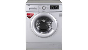 एलजी 6.5  Fully Automatic Front Load Washing Machine Silver (FH0G7WDNL52)