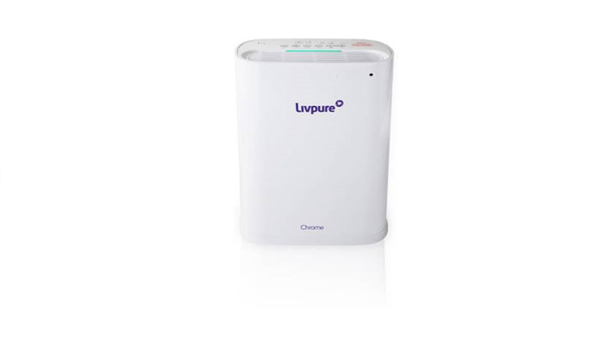Livpure Chrome Portable Room Air Purifier