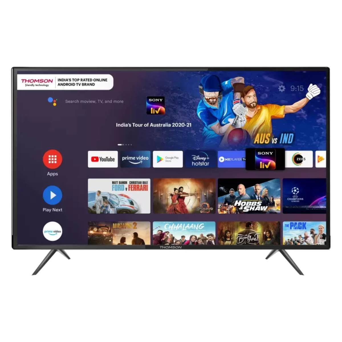 Thomson 9A Series 40 அங்குலம் Full HD LED Smart ஆன்ட்ராய்ட் TV(40PATH7777)