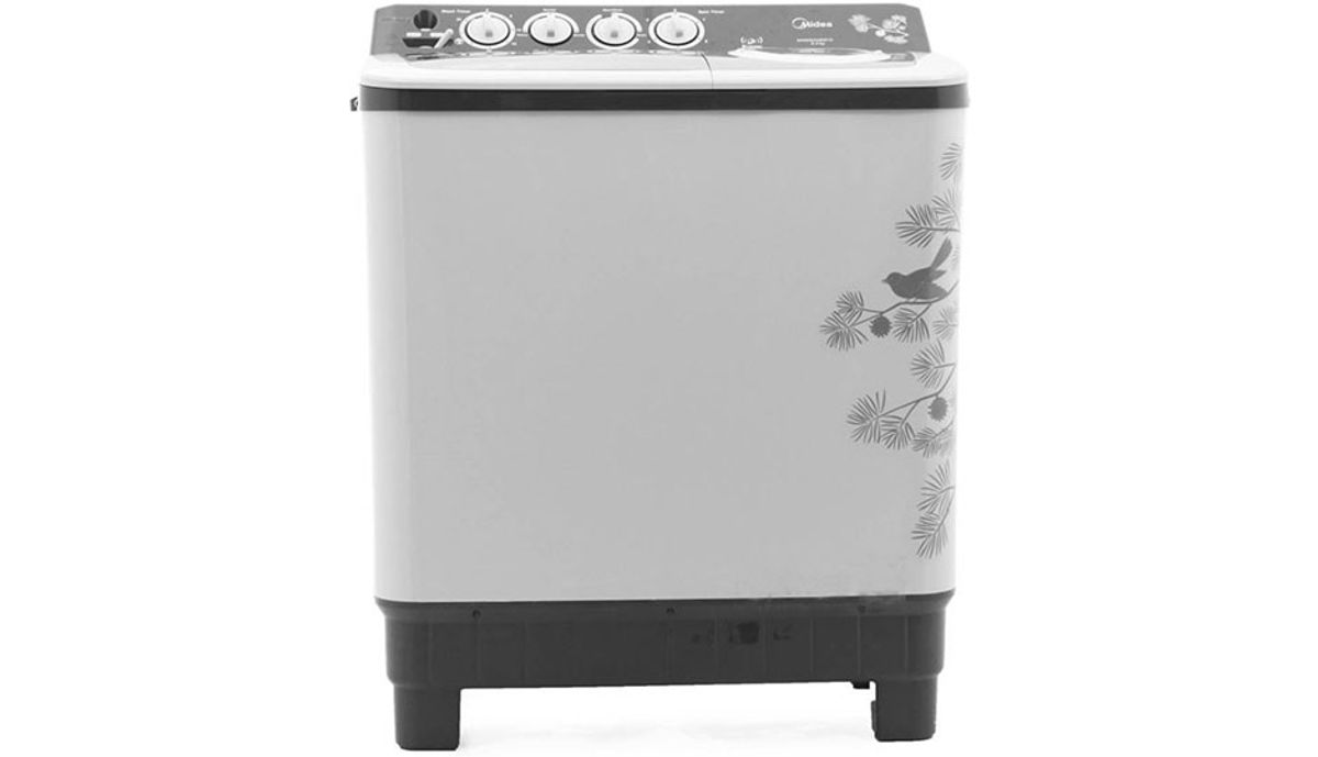Carrier Midea 8  Semi Automatic महत्त्वाचे Load Washing Machine (MWMSA080015)