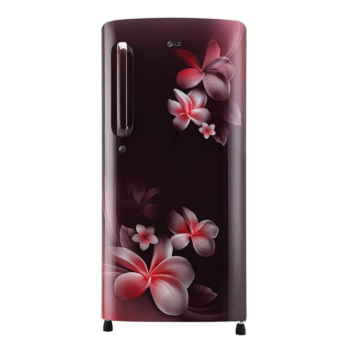 LG 190 L 4 Star Inverter Single Door Refrigerator (GL-B201ASPY)