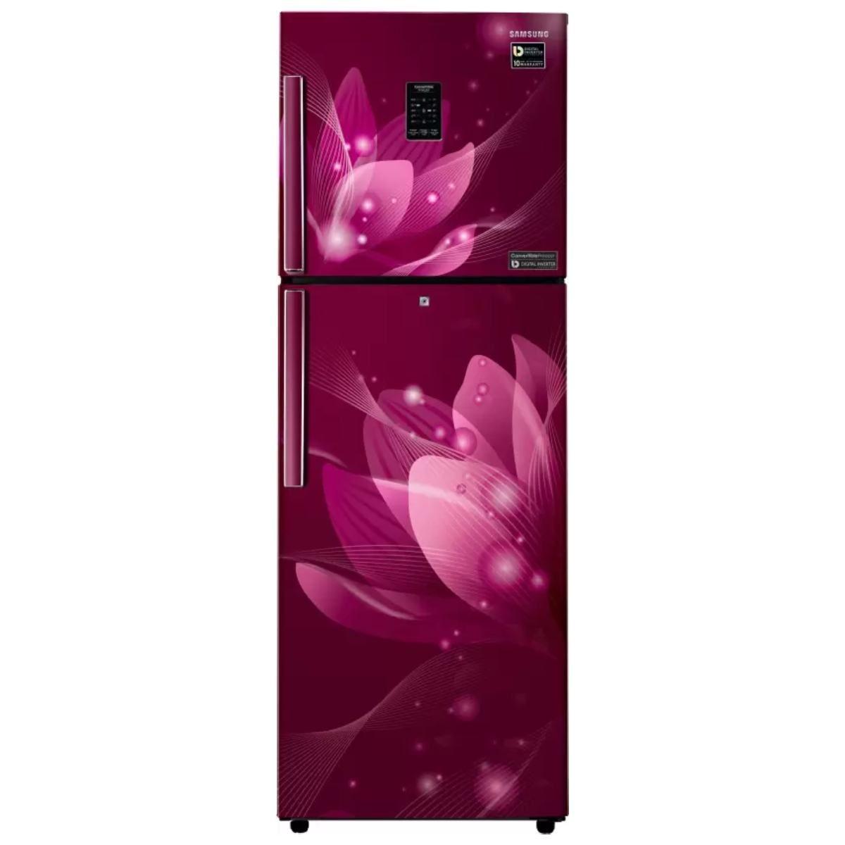 சேம்சங் 253 L Frost Free Double Door 2 Star Refrigerator(RT28T3922R8/HL)