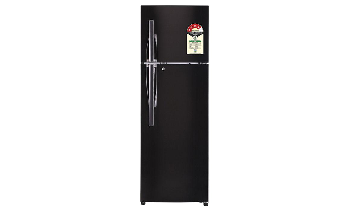 एलजी 335L 4 Star Frost-Free Double-Door रेफ़्रिजरेटर (GL-T372JBLN)