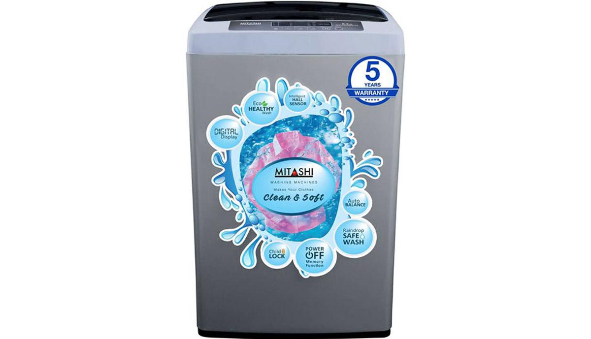மிதாஷி 6.2  Fully Automatic மேலே Load Washing Machine Grey (MiFAWM62v20)