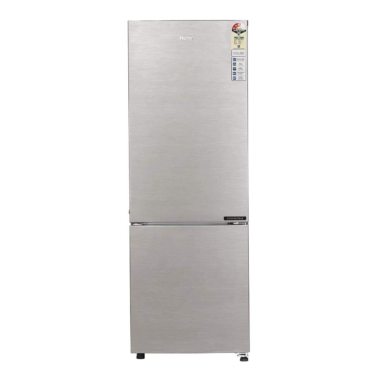 Haier 256 L 3 Star Double Door Refrigerator (HEB-25TDS-E)